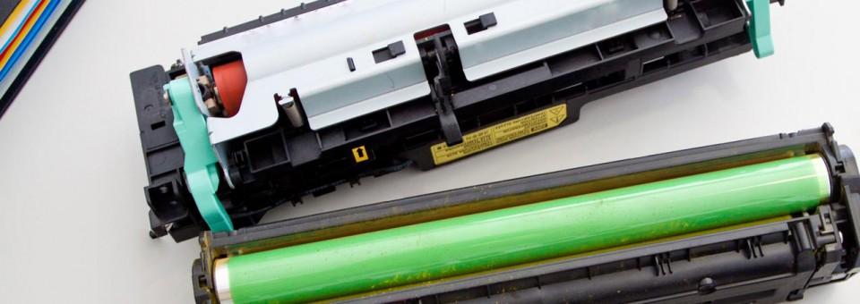Spausdintuvų ir kopijavimo aparatų eksploatacinės medžiagos